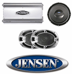 Subwoofers Amplifiers Clinton Township MI - Wow Electronics - Jensen